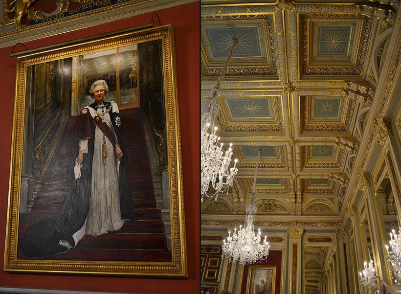Queen Elisabeth 2nd portrait